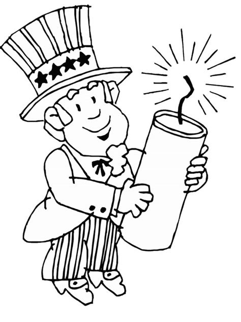 Coloring Page 4th Of July by Free Coloring Pages Fourth Of July Coloring Pages