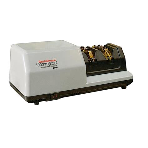 electric knife sharpener shop chef schoice electric knife sharpener at lowes