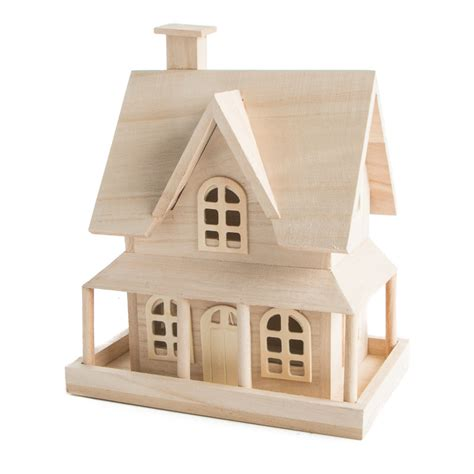wooden craft kits for unfinished wood country house wood craft kits