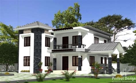 kerala home design double floor outstanding 6bhk double floor home kerala home design 6