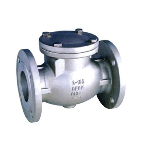 flanged swing check valve flanged stainless steel swing check valve