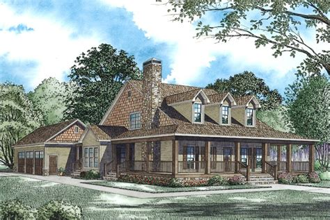 country farm house plans oak forest cabin lodge house plan alp 09rh