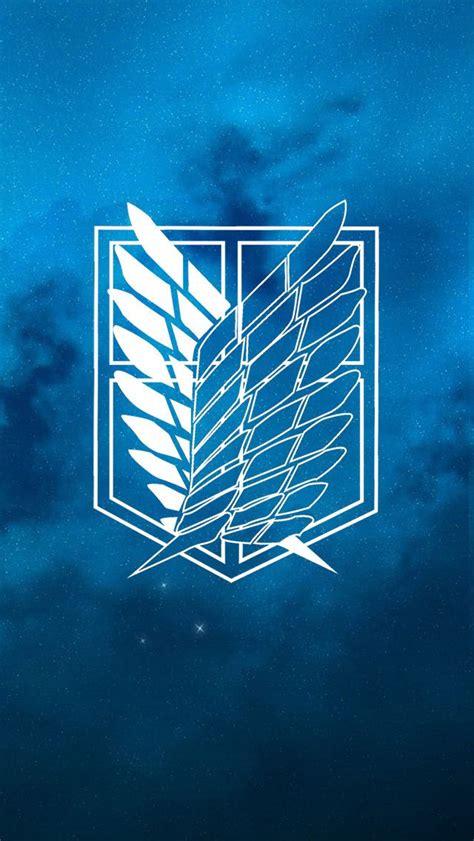 Kaos Scouting Legion Attack On Titan Wings Anime attack on titan scouting legion wallpaper backgrounds