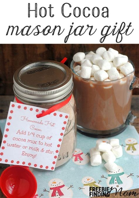 Jar Gifts Recipes - 12 days of diy gifts in a jar cocoa jar gift