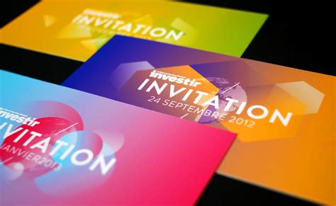 design carte d invitation projets de graphisme affiches d 233 pliants invitations