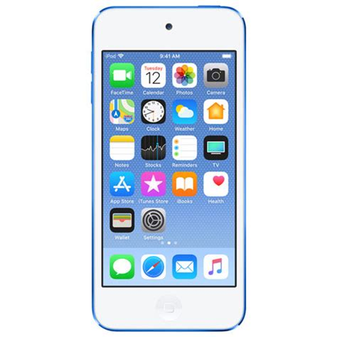 Ipod Touch 6th 16 Gb Blue Mulus Like New apple ipod touch 128gb 6th generation blue apple