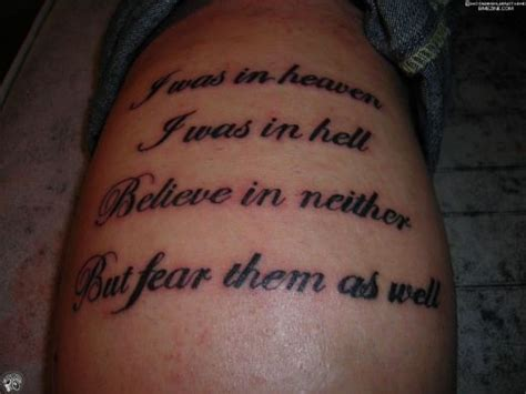 Sayings Tattoo Designs » Ideas Home Design