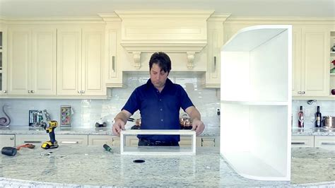 how to construct kitchen cabinets how to construct a base and wall end open shelf cabinet