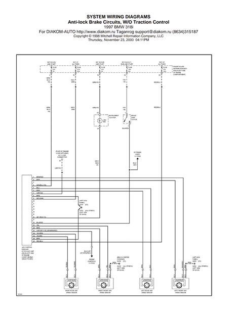 wiring diagrams and free manual ebooks 1997 bmw 318i anti