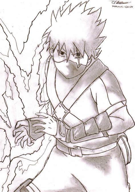 Pencil Kakashi Sai Anime kakashi d shippuuden fan 29118179 fanpop