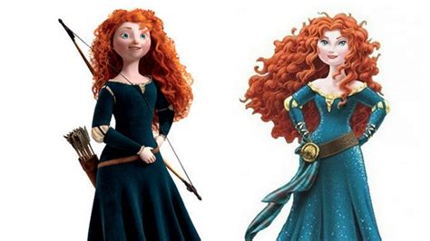 Merida Slayer disney s not so brave makeover ms magazine