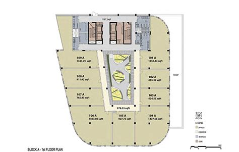 office block floor plans office park commercial and retail spaces for rent