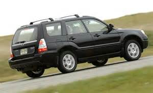 2006 Subaru Forester Price Car And Driver
