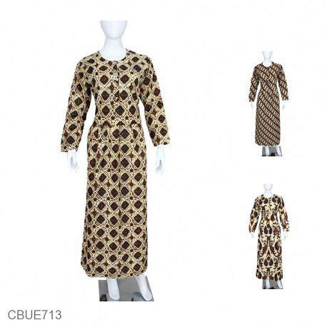Arimbi Sogan jual gamis batik murah model gamis batik terbaru