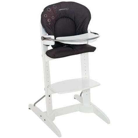 chaise haute bebe 9 bebe confort chaise haute woodline poetic black marron