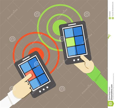 mobile phones information mobile phone information transfer stock images image