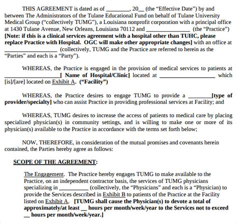 professional services agreement template sle professional services agreement 11 free in pdf word
