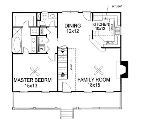 Open Concept Floor Plans For Small Homes house plan 92423 at familyhomeplans com