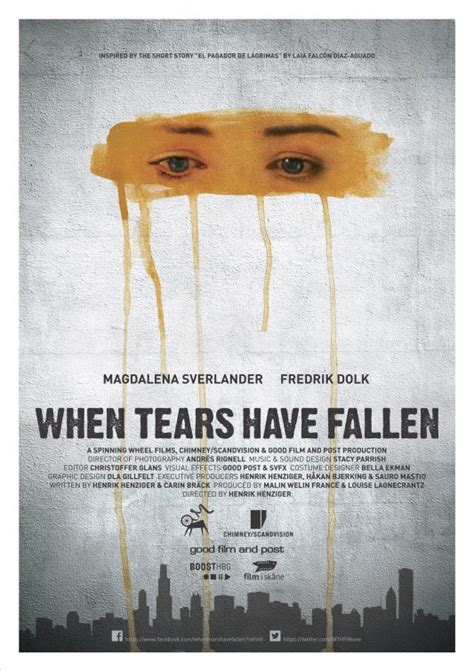 short film fallen art when tears have fallen short film poster sfp gallery