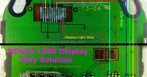 nokia rm 1110 display light repairing nokia 1280 lcd display light problem with