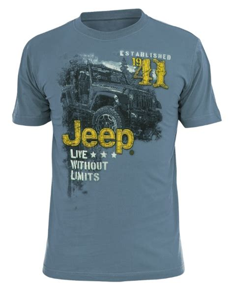jeep t shirts officially licensed jeep shirts for
