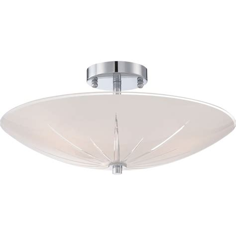 quoizel qf1842c polished chrome signature 3 light semi