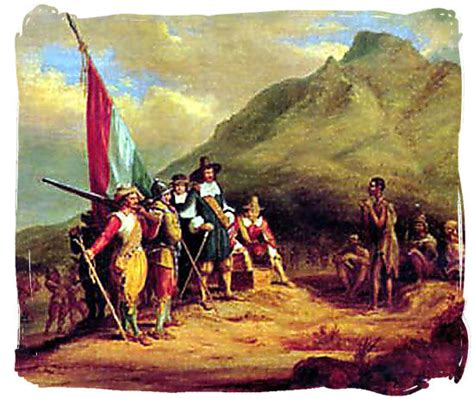 Cape Arab Vs the cape colony of south africa and jan riebeeck early history