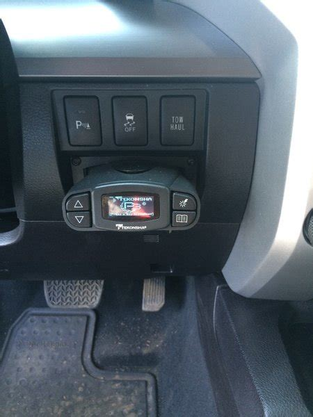Toyota Tundra Brake Controller Tekonsha P3 Brake Controller Harness And Esp Mounting