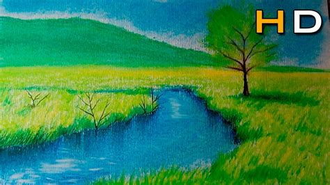 colored pencil landscape how to draw a landscape with colored pencil pitt pastel