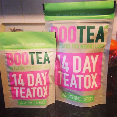 Bootea Detox Diet Plan by Bootea Teatox Giving This Detox A Try 28 Tea Bags Filled