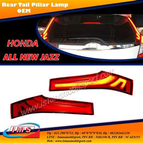 Led Reflector All New Jazz 2014 On Gk5 jual harga rear reflektor with led bar all new jazz gk5 2014 up pinassotte