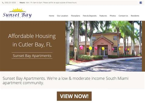 Section 8 Bay Area by Sunset Bay Apartments A South Miami Apartment Community