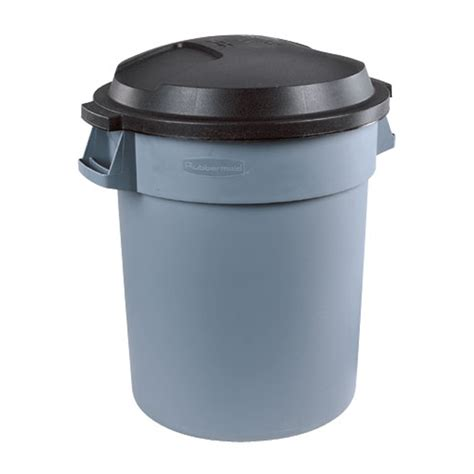 trash can quot roughneck quot outdoor garbage can rona