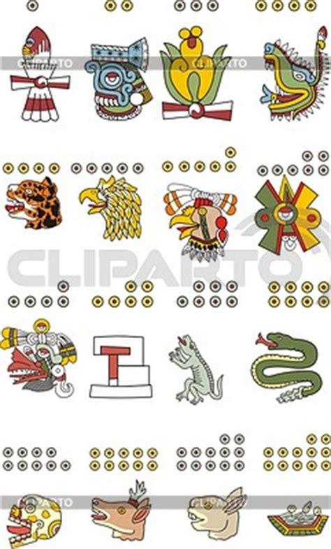 Calendario Azteca Animales Aztecas Fotos Stock Y Clipart Vectorial Eps Cliparto