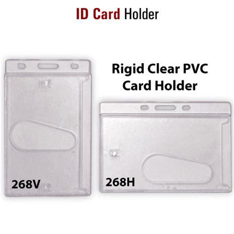 smart design id card pvc card holder 268 smart design ltd