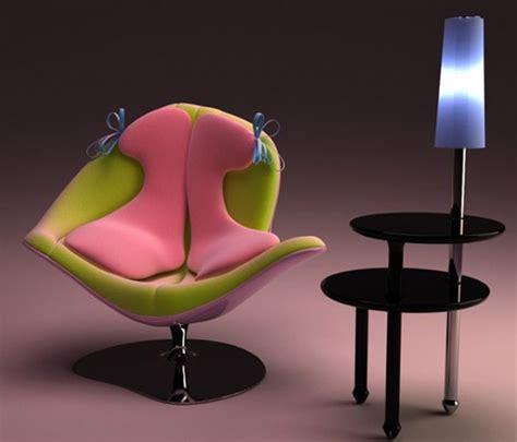 Feminine Chair by Girly Feminine Pink Chair Furniture Designs Iroonie