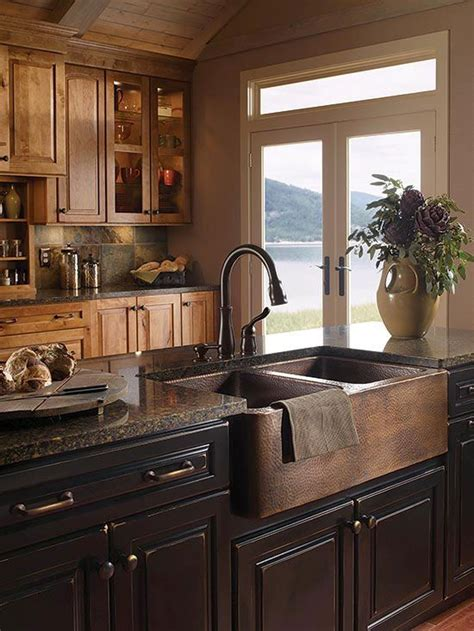farmhouse cabinets for kitchen sinks masculine kitchen and farmhouse on pinterest