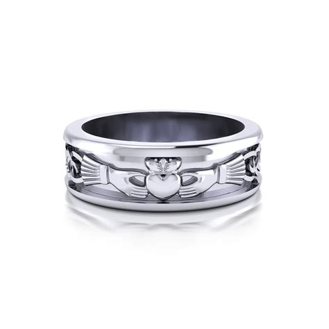 Design Mens Wedding Ring by S Claddagh Wedding Ring Jewelry Designs