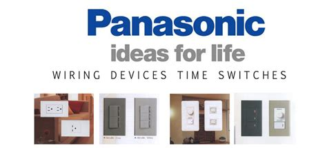 Switch Panasonic switches and receptacles corbel builders supply