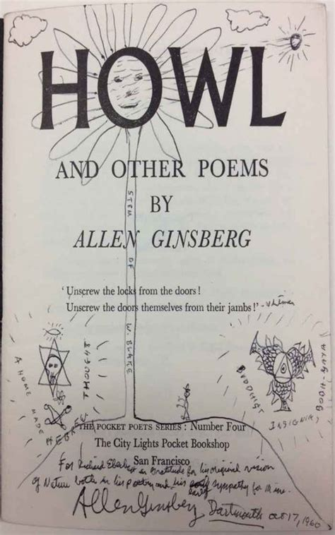 howl for it books allen ginsberg howl and other poems www imgkid the