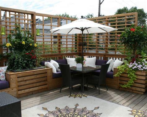 eckbank terrasse sch 246 ne terrasse einrichten 100 tolle ideen archzine net