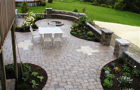 Unilock Patio Designs unilock patio