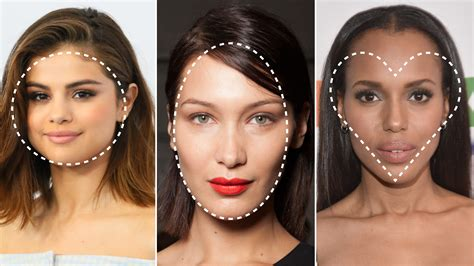 shapes of models faces what is my face shape 3 steps to finding your face shape