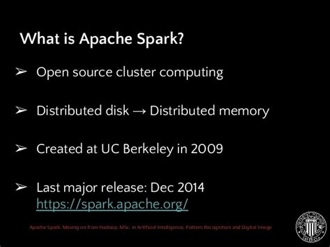 image pattern recognition open source apache spark moving on from hadoop
