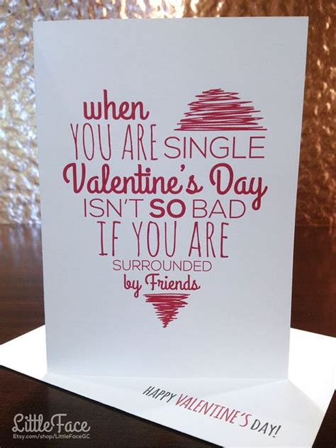 friend valentines day cards 20 and etsy s day cards for your best
