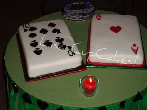 playing cards cake casino cakes   cake party cakes