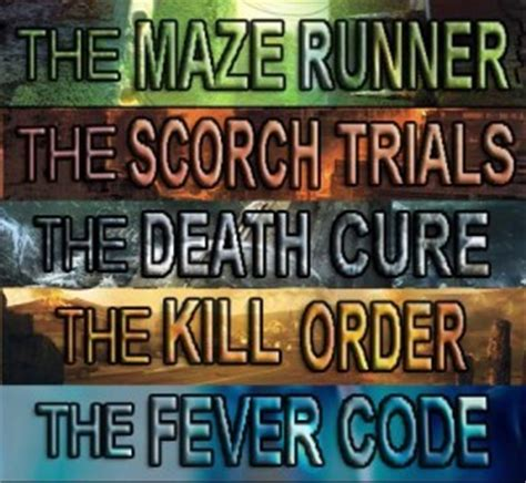 maze runner film order from the kill order maze runner series quotes quotesgram