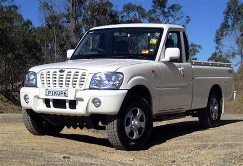 mahindra scorpio usa small diesel trucks in the usa autos post