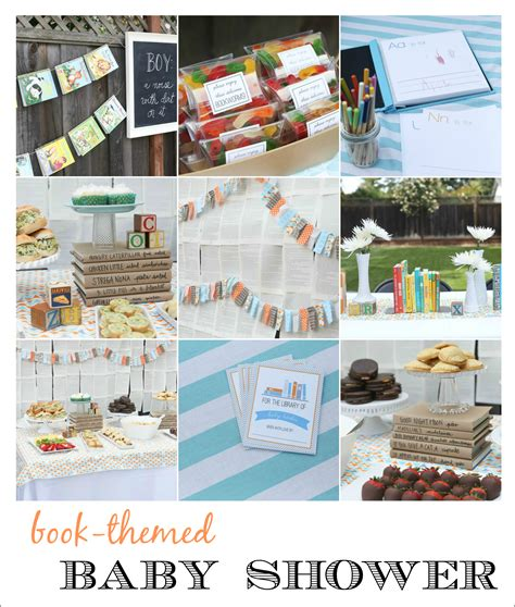 Book Baby Shower by Book Baby Shower And Free Printables