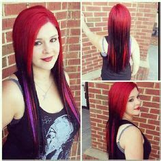 black n purple hair 1000 images about red with a twist on pinterest red